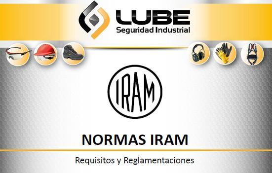 Normas IRAM - Elementos de protección personal