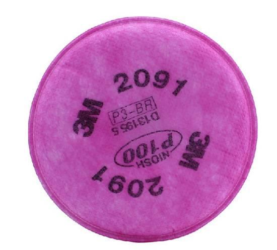Filtro 3M 2091 P100 para Partículas