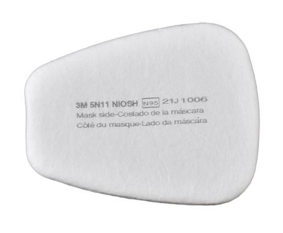 Prefiltro 3M 5N11 N95 para polvos y partículas