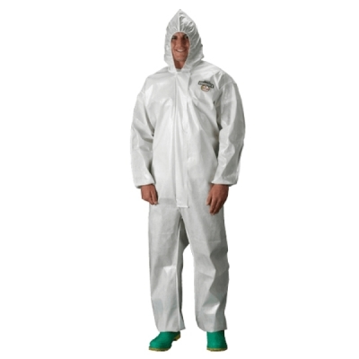 Mameluco Lakeland Blanco Costura Termosellada ChemMax 2 CE