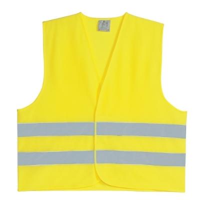 Chaleco Fluo Amarillo Con Reflectivo Liviano