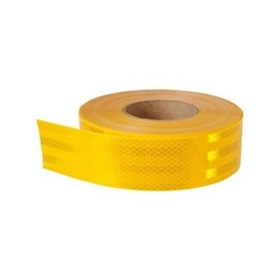 Cinta 3M Reflectiva para Transporte Amarilla Grado Diamante 50 mm x 1 cm