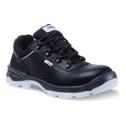 Zapato OMBU Ozono Cuero Flor Negro Suela PU