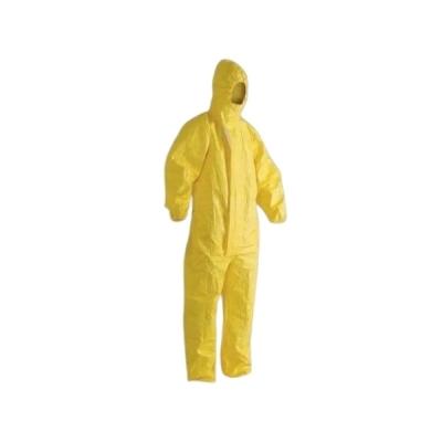 Mameluco de Proteccion Quimica Descartable Amarillo