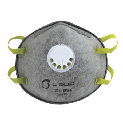 Respirador LIBUS 1745 N95 Vapor Orgánico con Válvula
