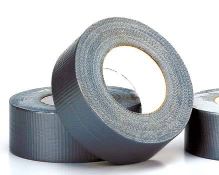 Cinta Duct Tape Plateada 48 MM X 50 MTS