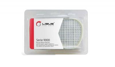 Kit de Filtros para Pintura Libus Cartucho G01 VO - Prefiltro N95