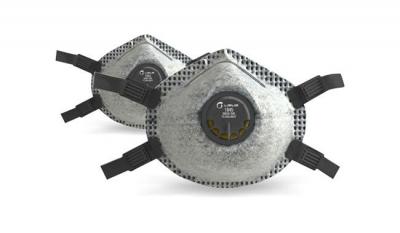 Respirador Libus 1845 R95  Vapor Organico  con Valvula  Sello Facial Tiras Regulable para Soldadura