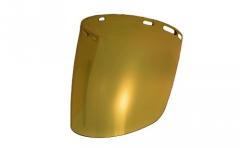 Protector Facial Libus Burbuja Transparente Gold para Altas Temperaturas Norma ANSI