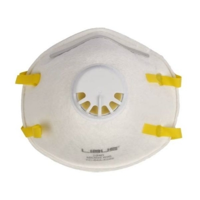 Respirador LIBUS 1940 R95 c/Válvula p/ Partículas y Soldadura
