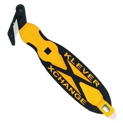 Cutter de Seguridad Klever Hoja Simple