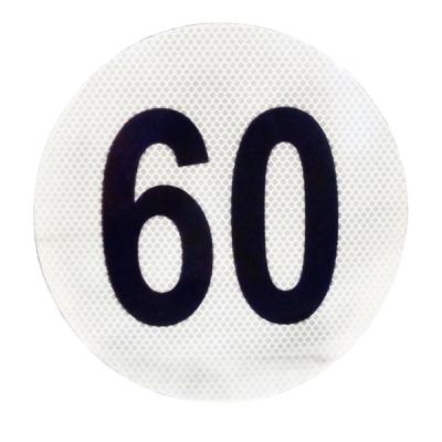 Círculo Reflectivo de 3M Máxima Velocidad 60