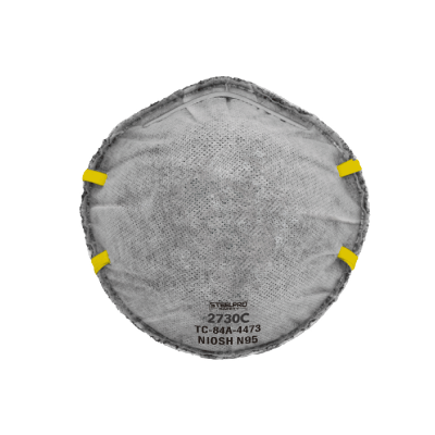 Respirador STEELPRO 2730C N95 Vapor Orgánico sin Válvula