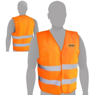 Chaleco Tipo Citrefil Naranja c/Reflectivo 120 grs DUTY