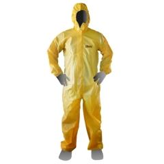 Mameluco DUTY Descartable Laminado Amarillo Costura Termosellada 87 grs