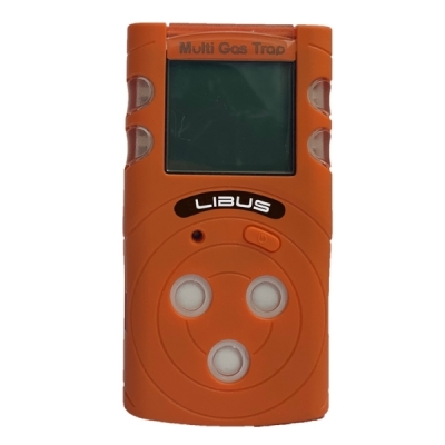Detector LIBUS Multigás Portátil MGT para 4 Gases (O2-CO-H2S-LEL) - 904292