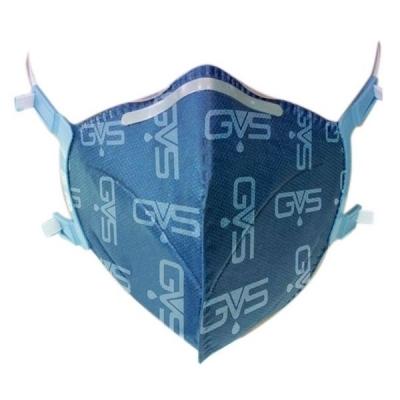 Respirador Descartable GVS AERO 2 Plegable para Polvos, Humos y Neblinas PFF2