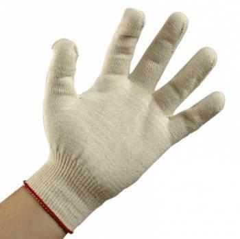 guantes tejidos de algodon protección de manos