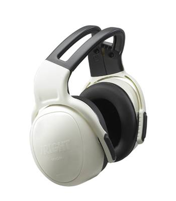 Protector Auditivo MSA LEFT/RIGHT Blanco Vincha 21 db