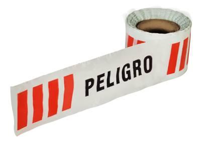 Cinta Demarcatoria de Polietileno PELIGRO