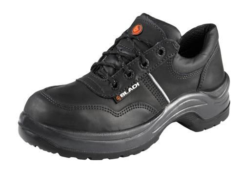 7777e3055b Zapato Bladi Cuero Flor Suela Pu Bidensidad con Bumper Negro